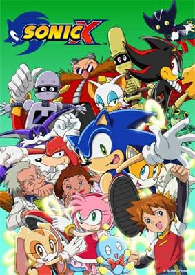 Sonic X affiche